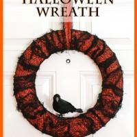 Spooky Halloween Wreath Tutorial