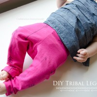 DIY Tribal Leggings Tutorial