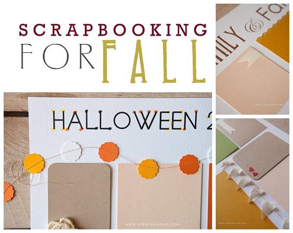 fall scrapbooking