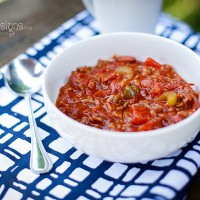Hearty Slow Cooker Italian Chili Recipe