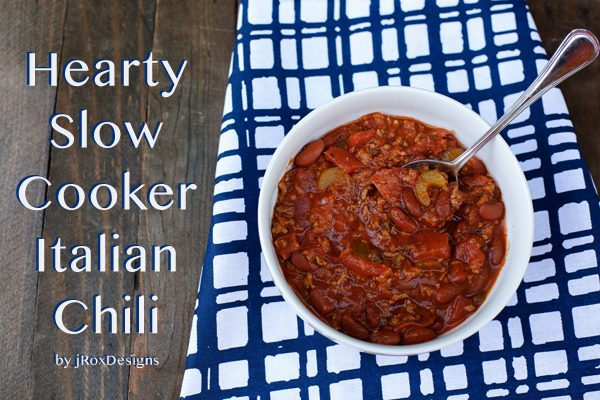 Slow Cooker Italian Chili