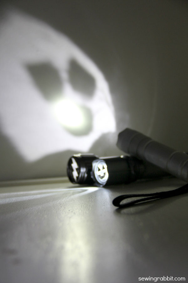 halloween shadow light