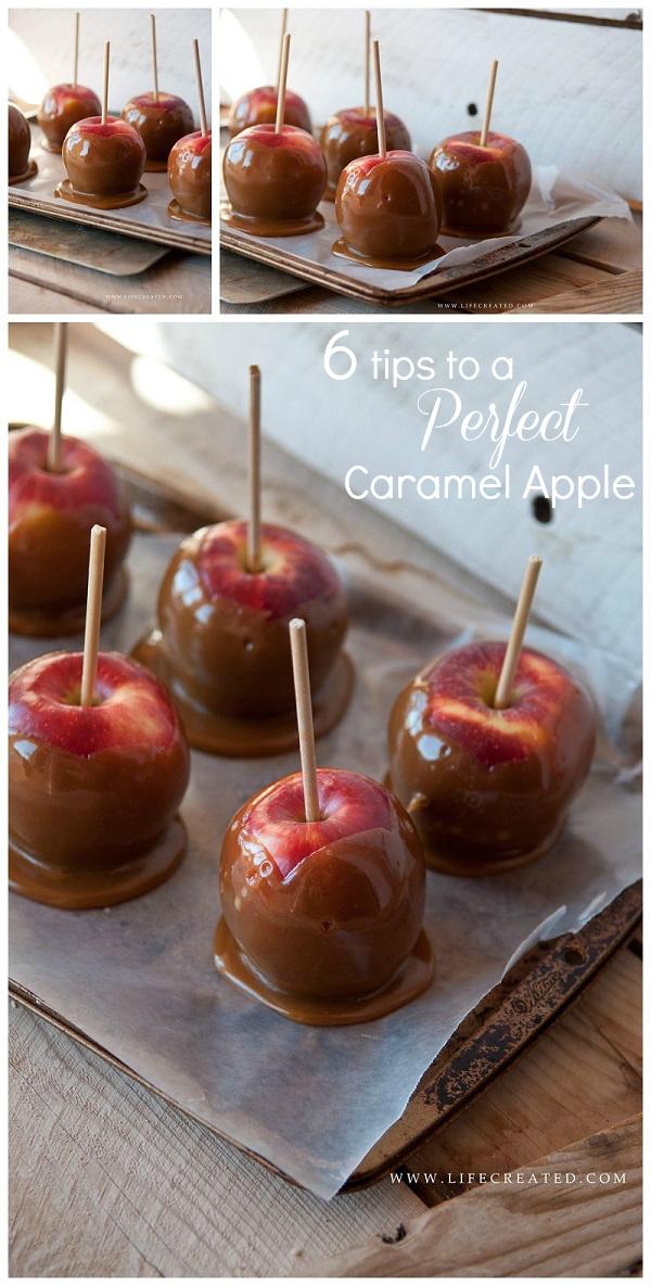 caramel apple tips