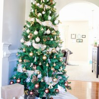 Gold Ombre Christmas Tree Reveal!