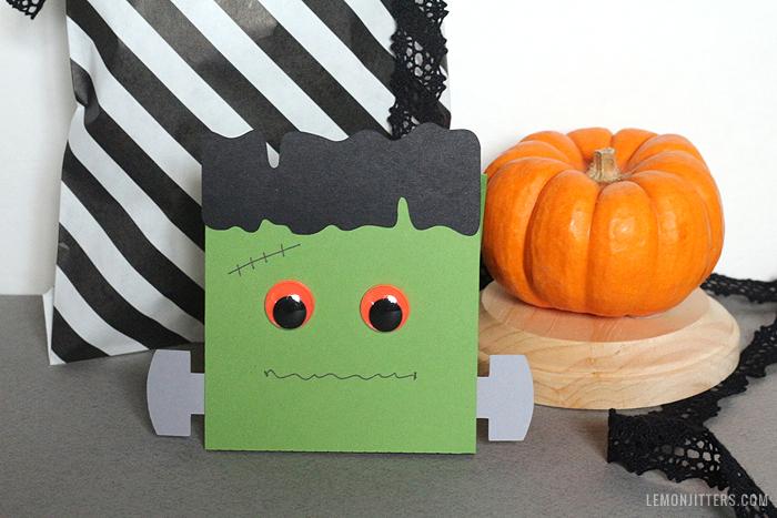 frankenstein halloween craft