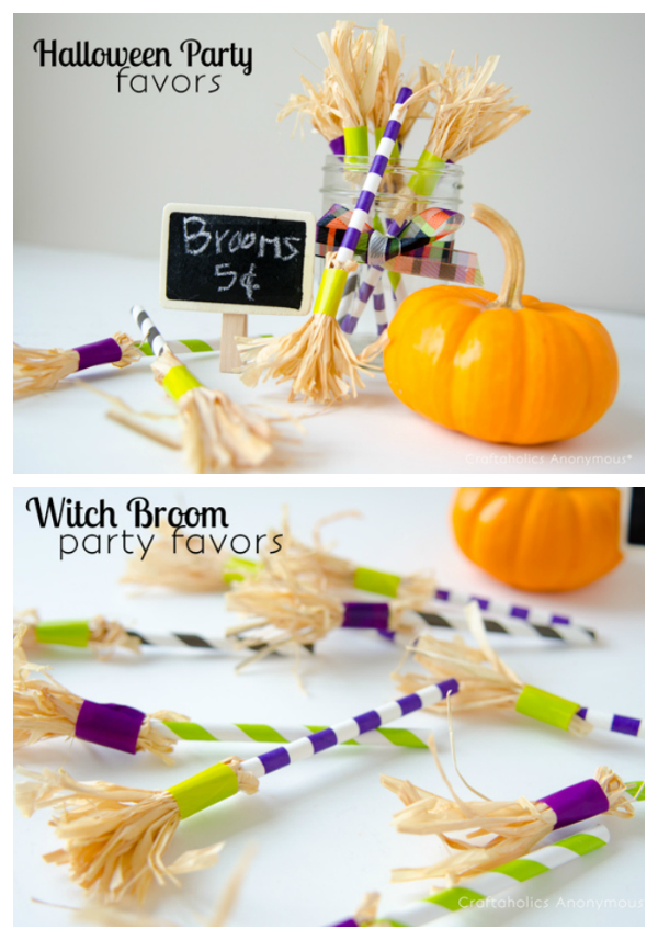 diy halloween party favors