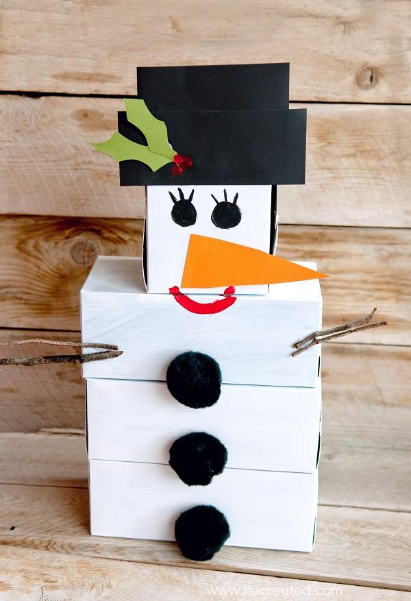 Craftaholics Anonymous 174 Diy Snowman Bowling Game