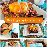Thanksgiving Table Ideas #ScotchEXP