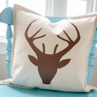 DIY Deer Pillow