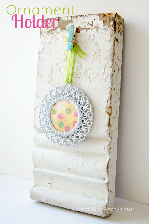 vintage ornament holder
