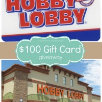 Thankful for YOU Giveaway! {$100 Hobby Lobby Gift Card}