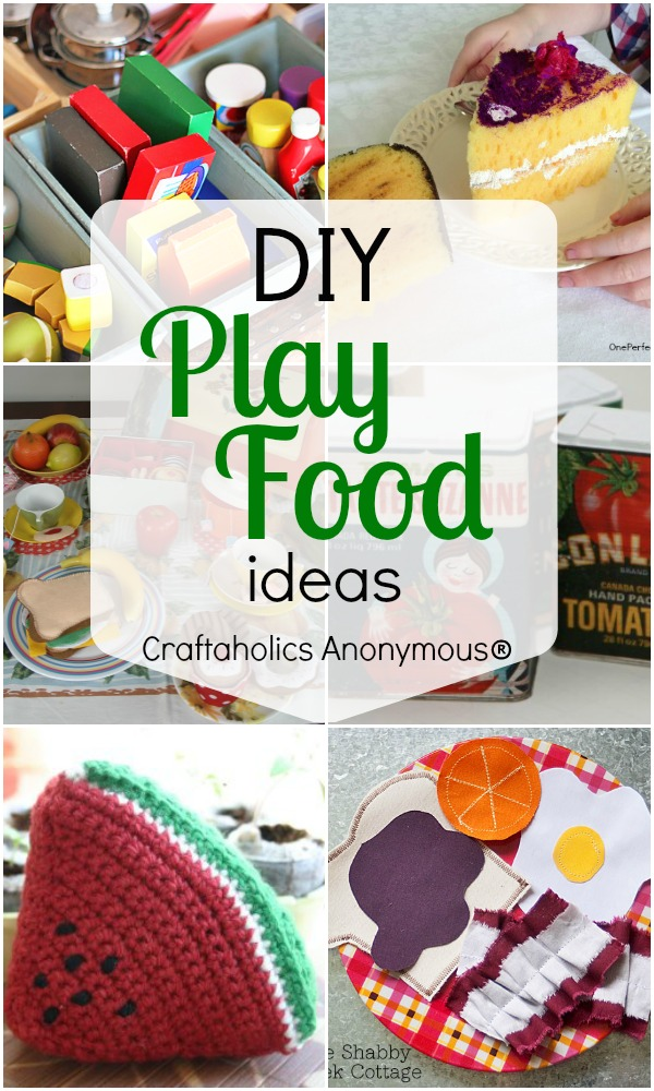 20+ play food ideas to deck out your play kitchen!