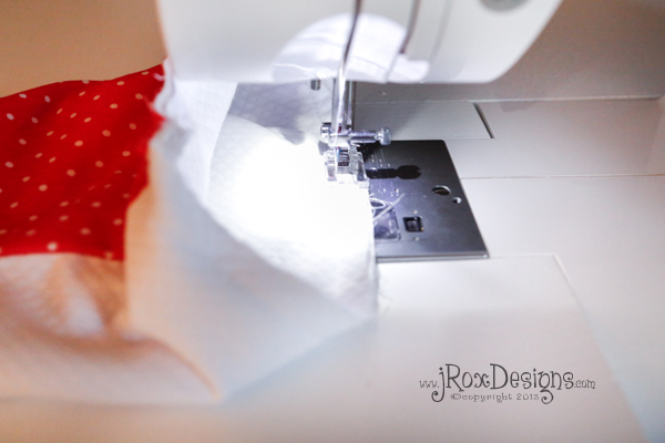 how to sew a stocking
