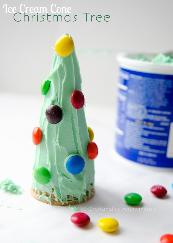 ice-cream-cone-christmas-tree