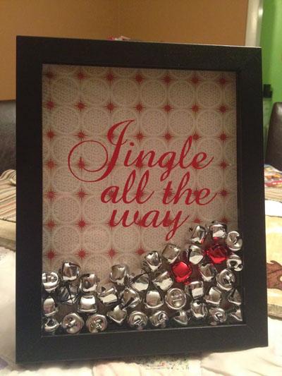 Jingle All The Way Shadowbox