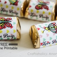 Love Bugs Valentine Printable