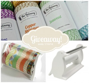 twine washi tape giveaway