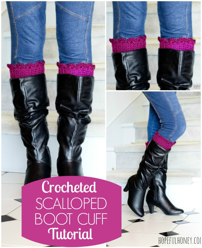 boot cuff tutorial
