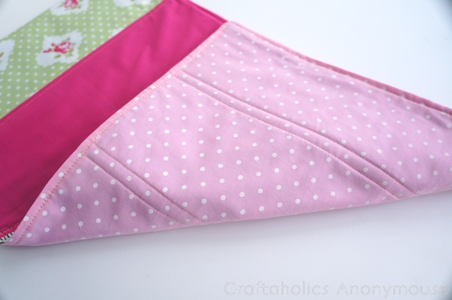 how to sew a doll quilt