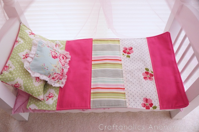 quilt for doll bed