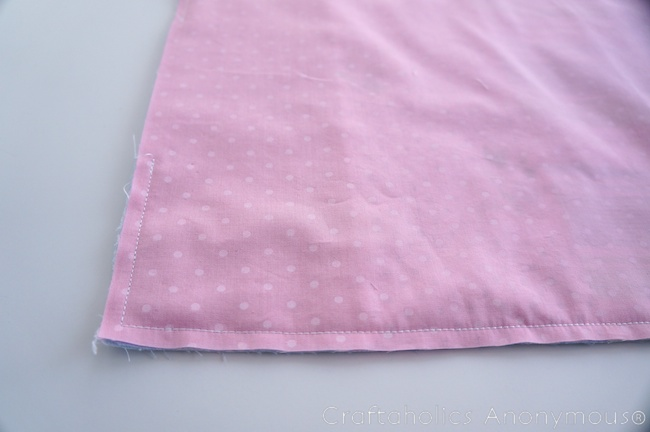 sew a doll quilt