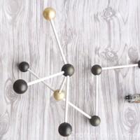 Modern Decor: DIY Molecule Model