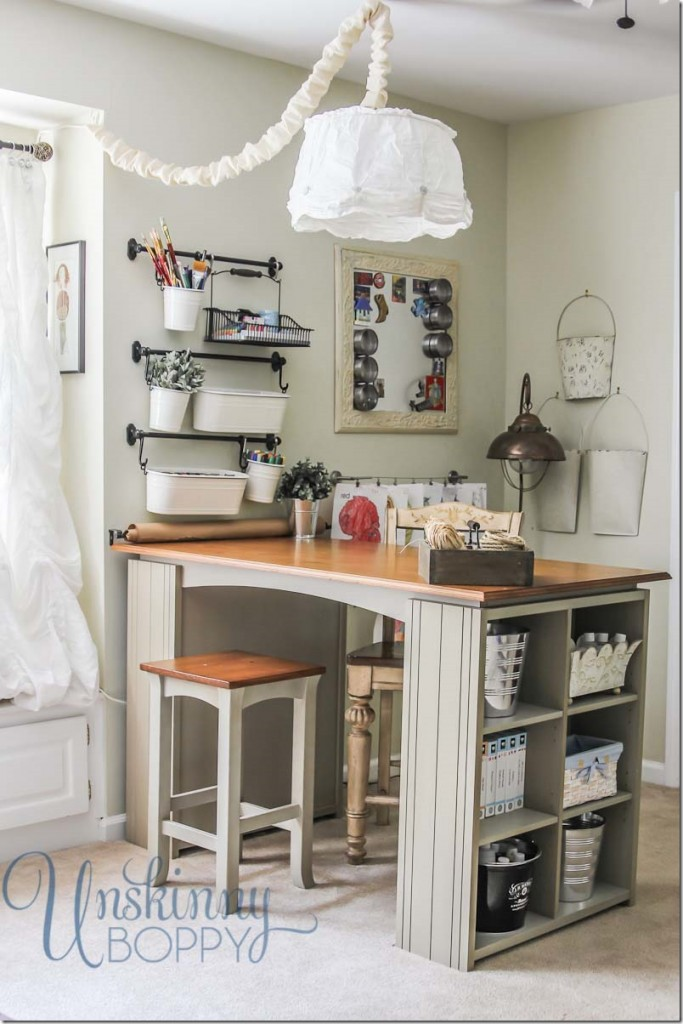 small crafting space