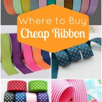 Where to Buy Cheap Ribbon