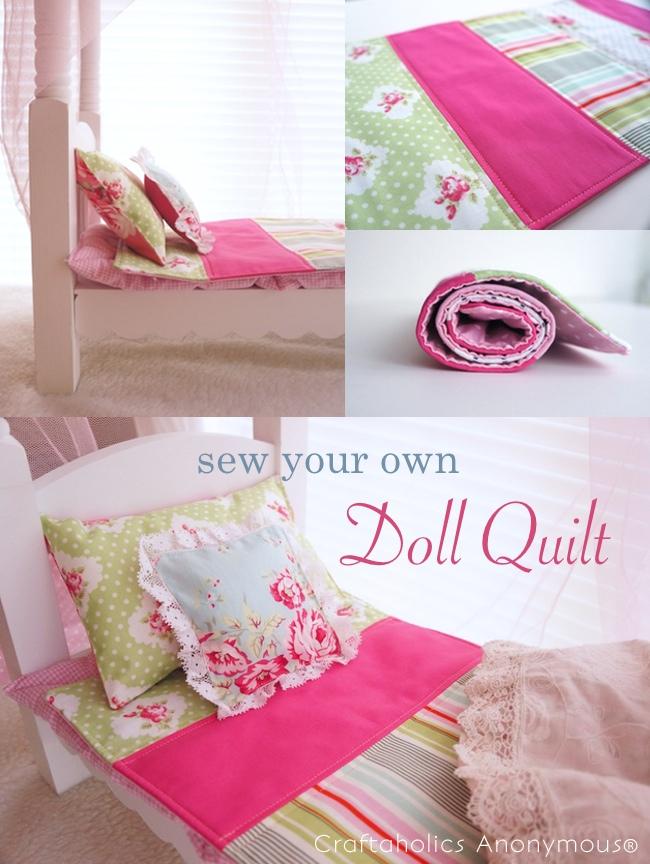 doll quilt tutorial