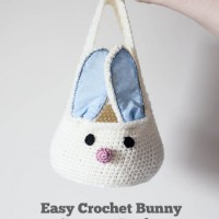 Crochet Bunny Basket Tutorial
