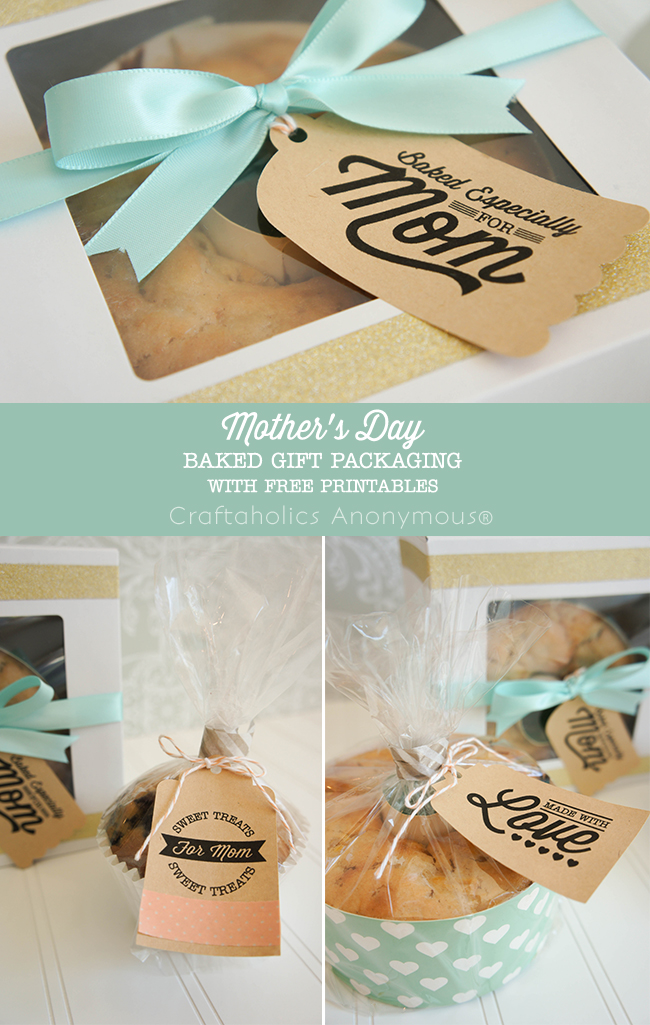 Free Mother's Day printables + packaging ideas. Super cute! Love the fonts she used. #mothers_day #printable
