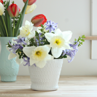 DIY Honeycomb Vase Tutorial