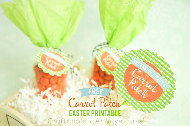 cute Easter craft idea + free printable!