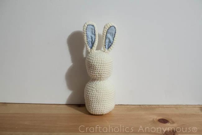 How to Crochet a Bunny Rabbit tutorial