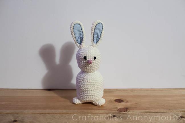 Crochet Bunny Rabbit tutorial - free pattern!