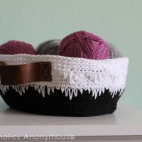 Geometric Crochet Basket Tutorial