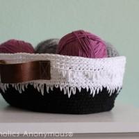 Geometric Crochet Basket Tutorial