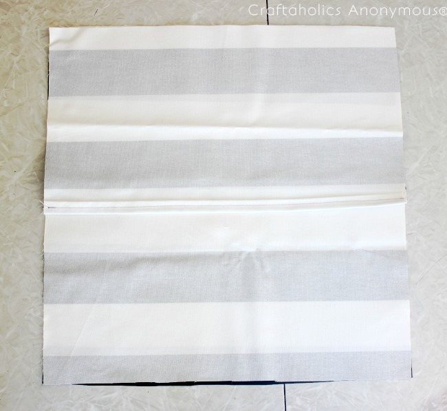 Envelope pillow tutorial. Only takes 15 mins to make!
