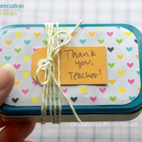 Teacher Appreciation Gift – Altiods Gift Card holder
