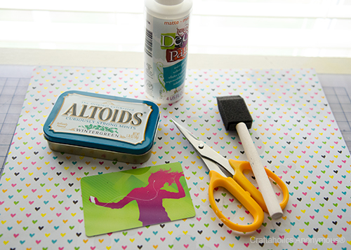 turn an Altiods can into a gift card holder!