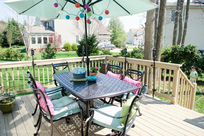 outdoor entertaining tips for summer