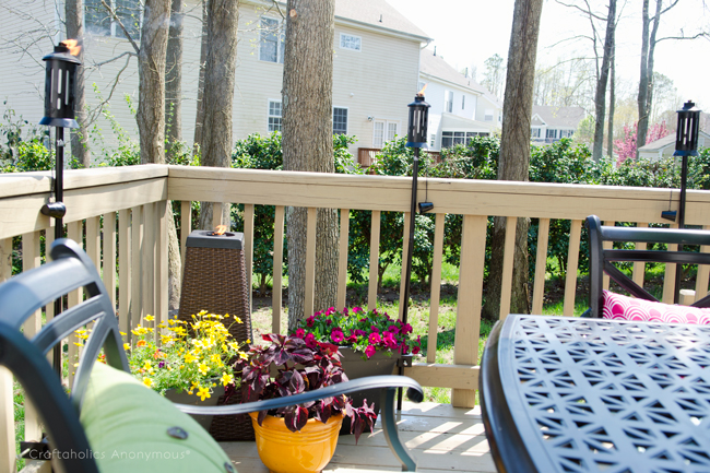 TIKI® brand torches are great for outdoor entertaining!