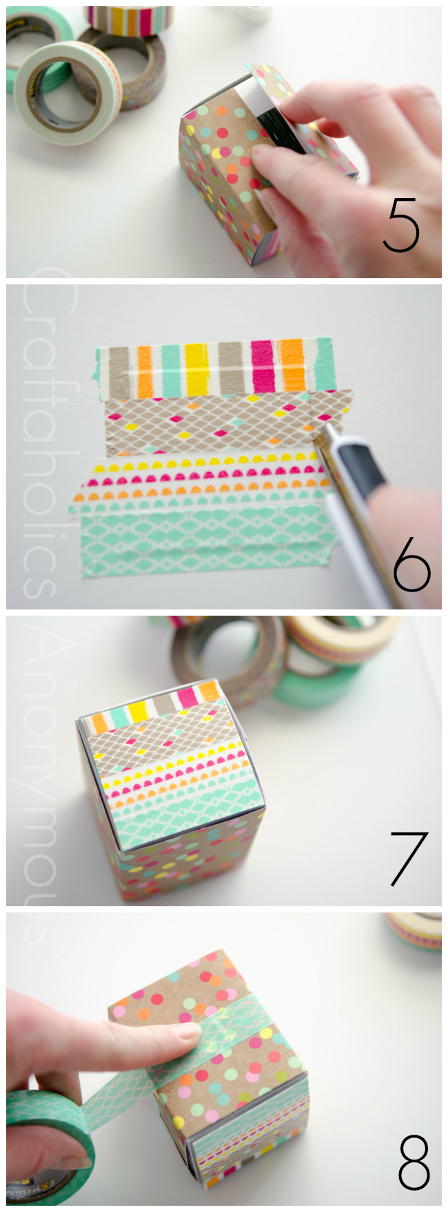 washi tape box tutorial2