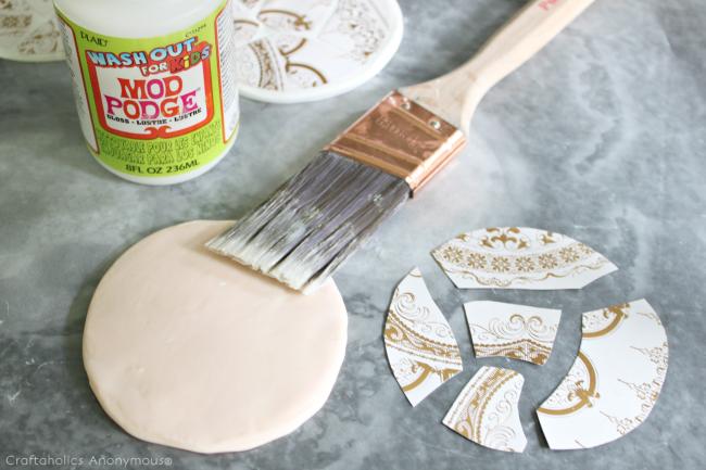 how to make mosaic coasters