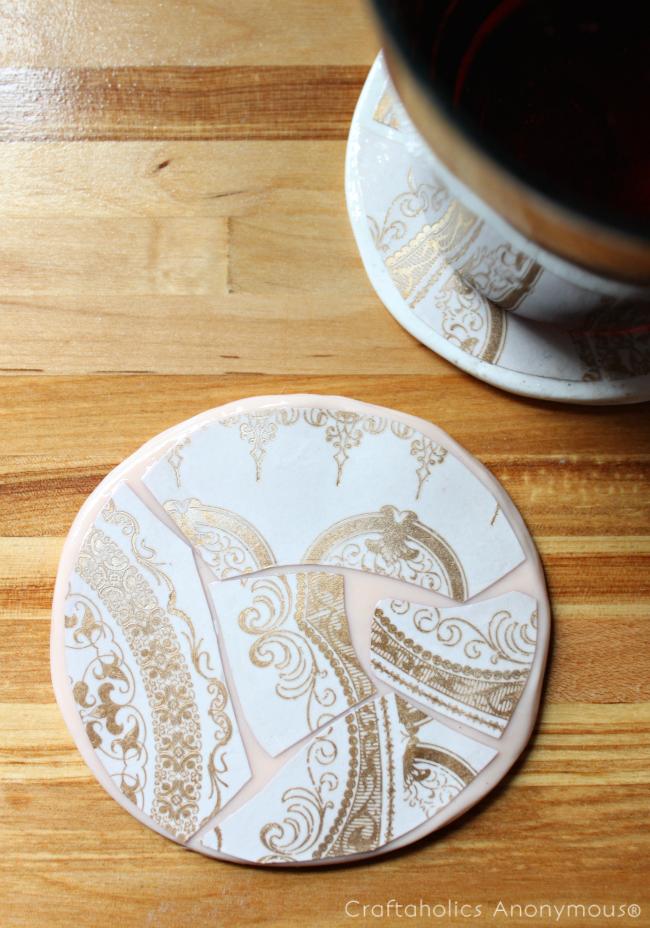 DIY Coasters. Easy tutorial!