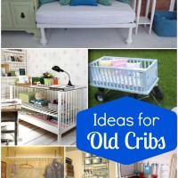 Reuses and Ideas for Old Cribs