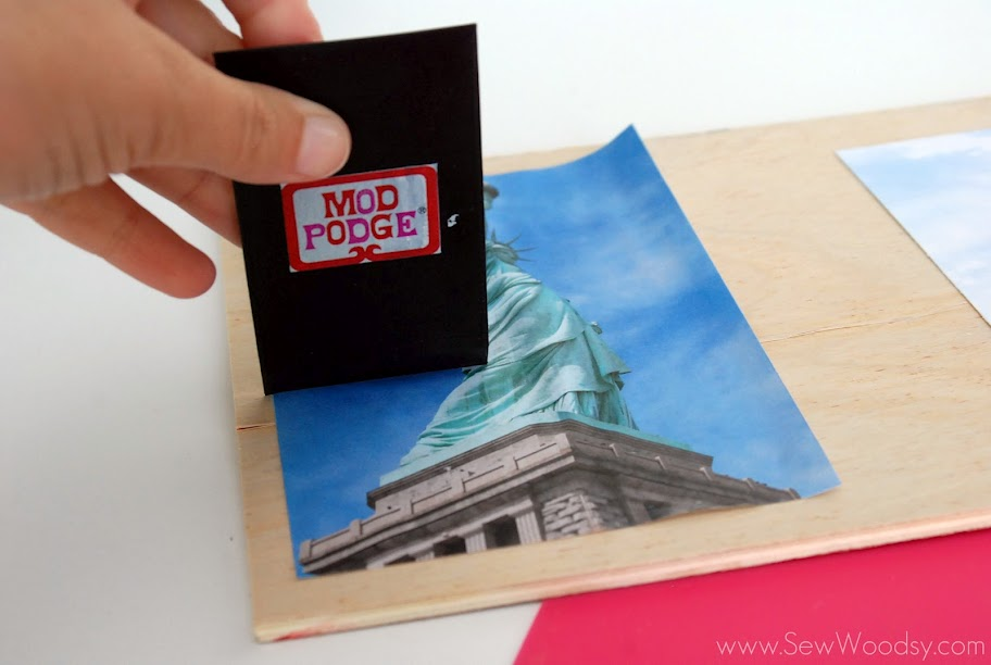 Mod-Podge-Patriotic-Photo-Plaque-7
