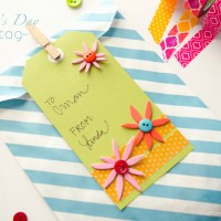 Spring Handmade Gift Tag #MakeAmazing