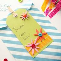 Spring Handmade Gift Tag #MakeAmazing