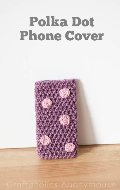 polka dot phone cover